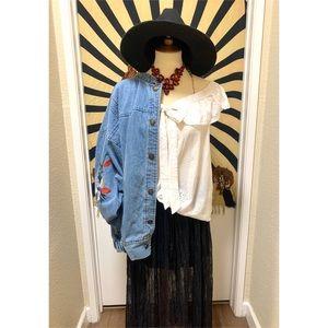 🌈 Beautiful boho picnic blouse